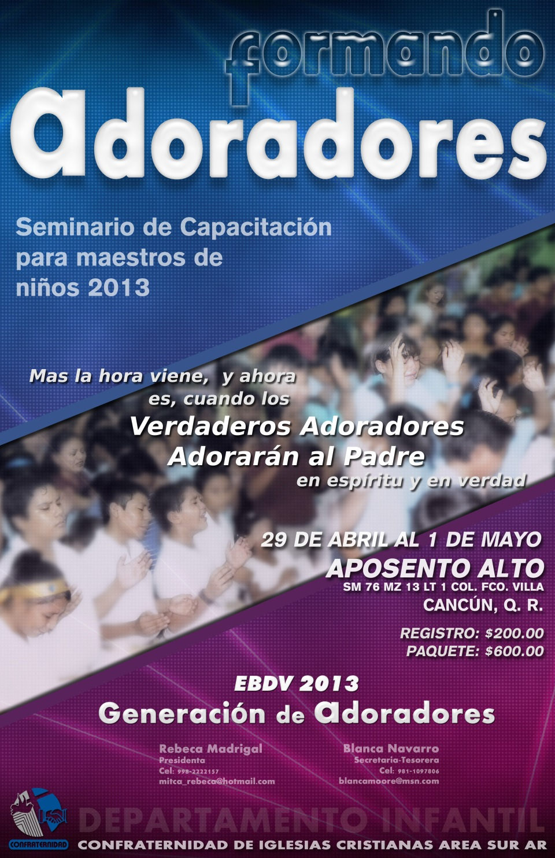 Seminario para Maestros de la EBDV 2013